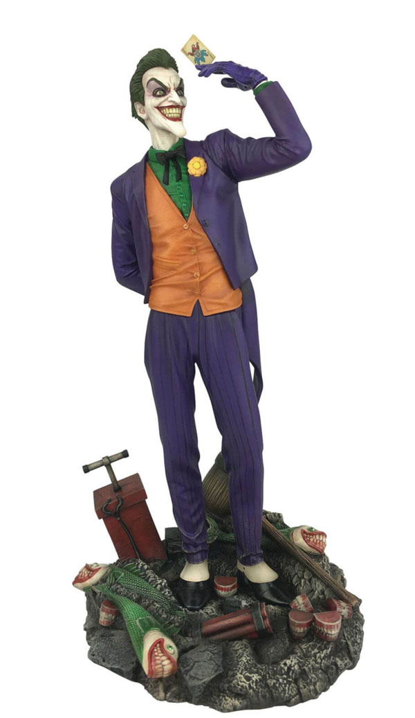 DC Gallery Comic Joker Statue design by Caesar