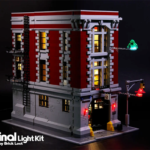 Ghostbusters Headquarters Lego LED Lights