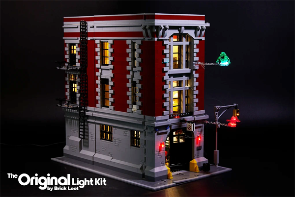 LED Lighting Kit for LEGO Ghostbusters Firehouse Headquarters 75827