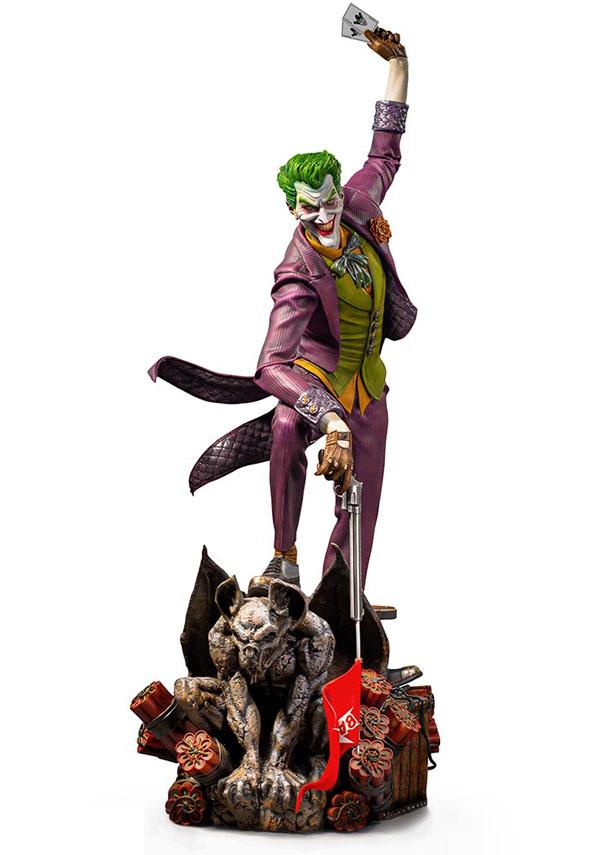 Ivan Reis Joker Statue by Iron Studios