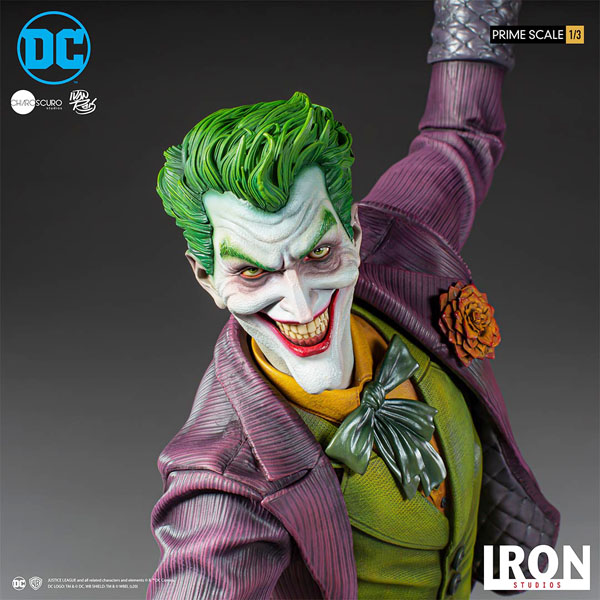 The Joker 1:3 Statue by Iron Studios
