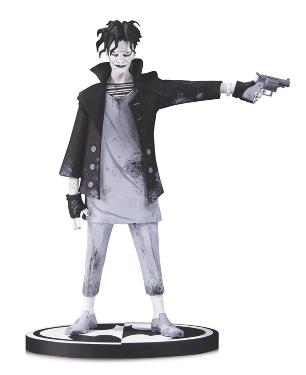 Black and White Joker Gerard Way Statue DC Direct