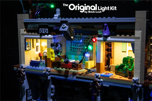 LEGO The Upside Down set 75810 LED lights