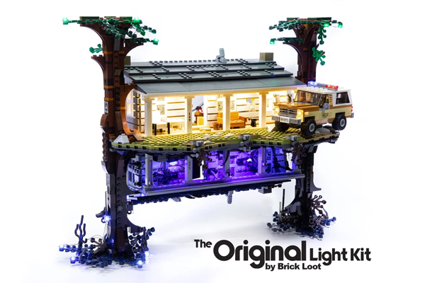 LED Lighting Kit for LEGO Stranger Things: The Upside Down set 75810