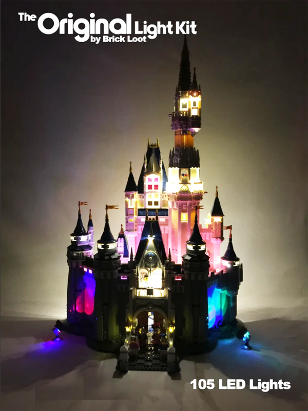 LEGO Disney Castle LED Lighting Kit