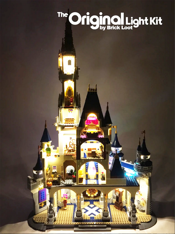 Brick Loot LED Kit for Lego Disney Castle