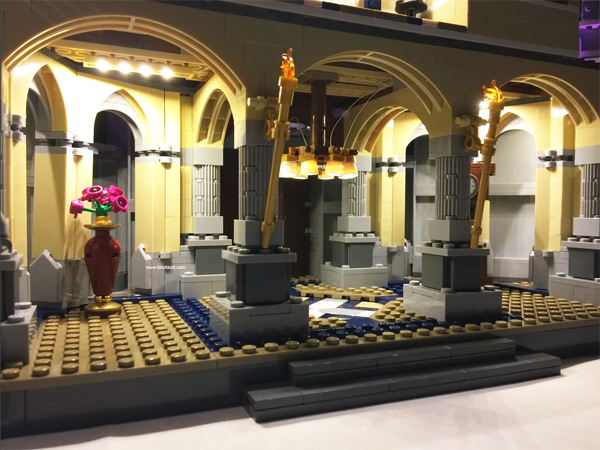 Lego Cinderella Castle LED Lights