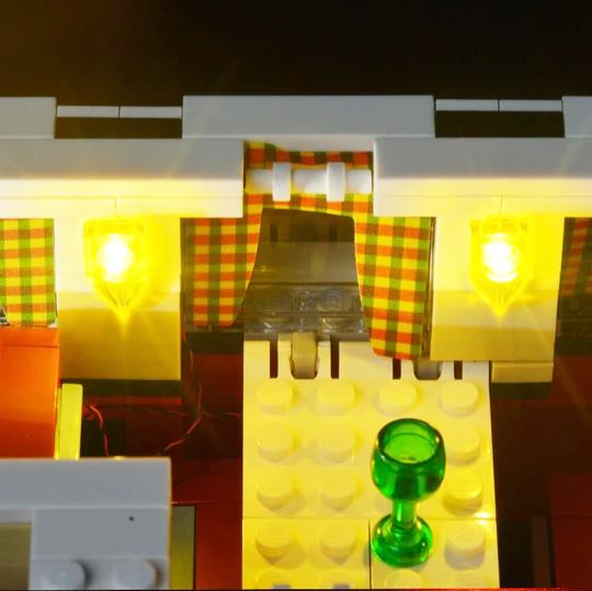 Lego Volkswagen Camper van Interior lights