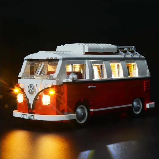 Lego Volkswagen T1 Camper Van 10220 LED lighting kit