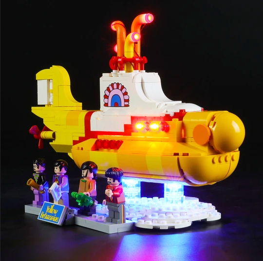 Yellow Submarine Lego LED Lights