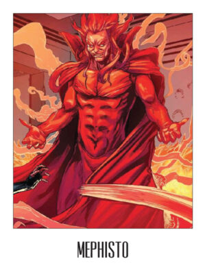 Mephisto from Ghost Rider