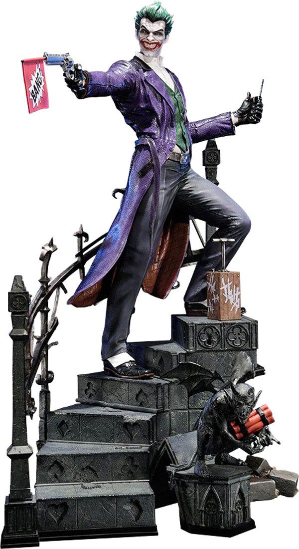 Arkham Origins Joker Statue from Batman: Arkham Origins