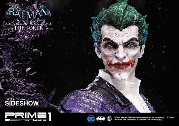 Batman: Arkham Origins 34 inch Joker statue