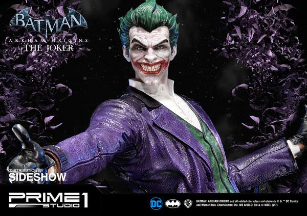 The Joker Statue from Batman: Arkham Origins - Thumb up