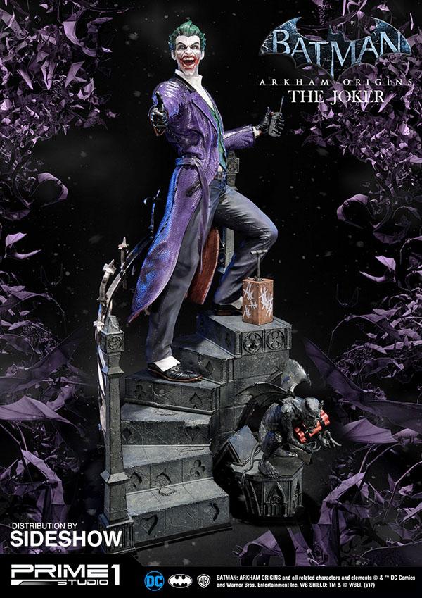 Batman: Arkham Origins Joker Statue