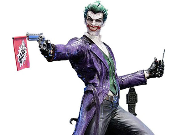 The Joker Arkham Origins Statue by Prime 1 Studio