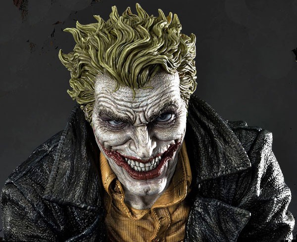 The Joker (Concept Design by Lee Bermejo) Statue - Grinning Face