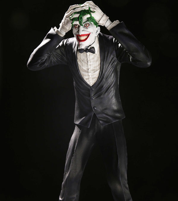 Brian Bolland Joker Clown Prince of Crime Statue