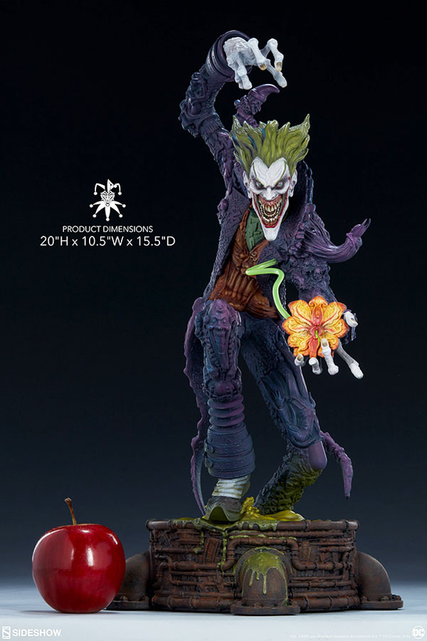 add The Joker Statue from Gotham City Nightmare to your collection