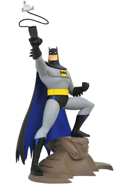 Batman Animated Grappling Gun Statue