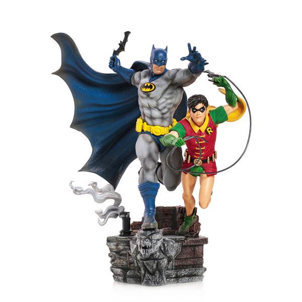 Batman & Robin Deluxe Iron Studios DC Comics Statues