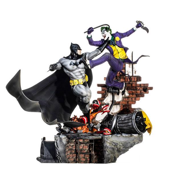 Best Iron Studios DC Comics Statues - Batman vs Joker