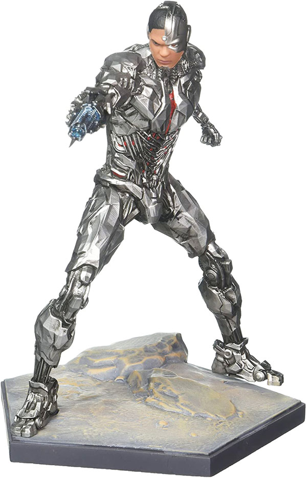 Cyborg Justice League Statue by Iron Studios