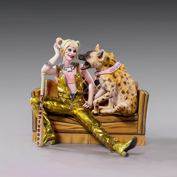 Harley Quinn & Bruce Deluxe Statue by Iron Studios