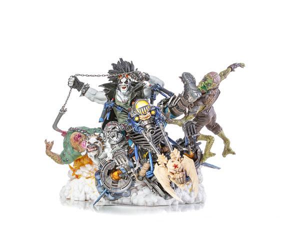 Sixth Scale Diorama by Iron Studios DC Diorama Series - Ivan Reis Statue