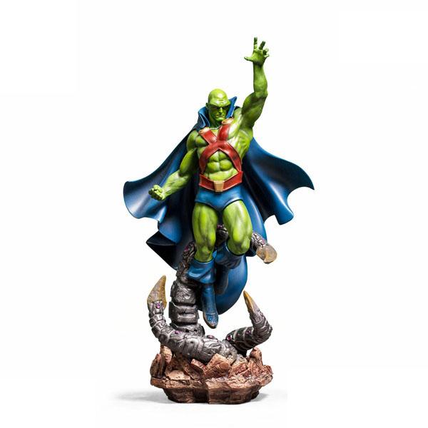 Martian Manhunter Statue by Iron Studios