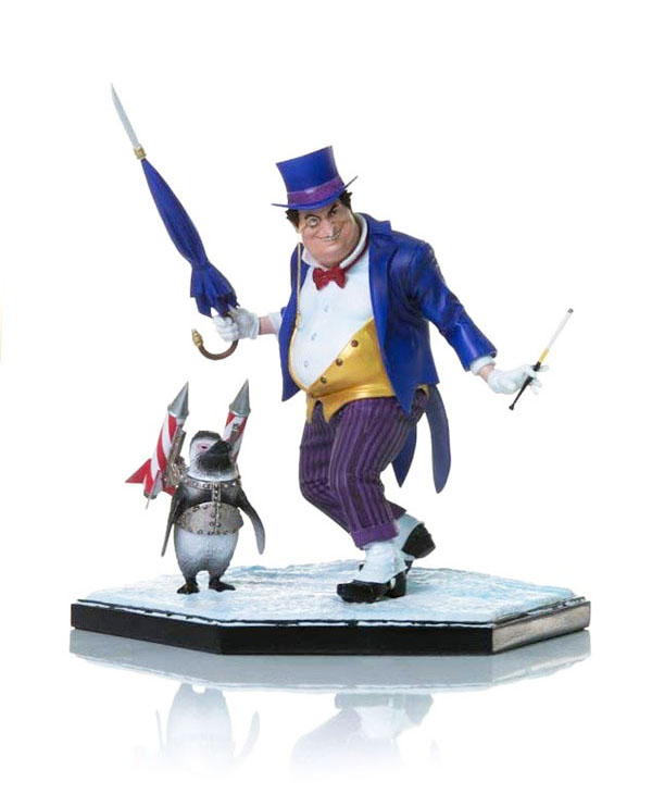 Penguin by Ivan Reis Statue by Iron Studios