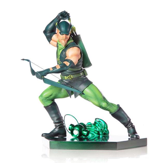 Green Arrow by Ivan Reis Statue by Iron Studios