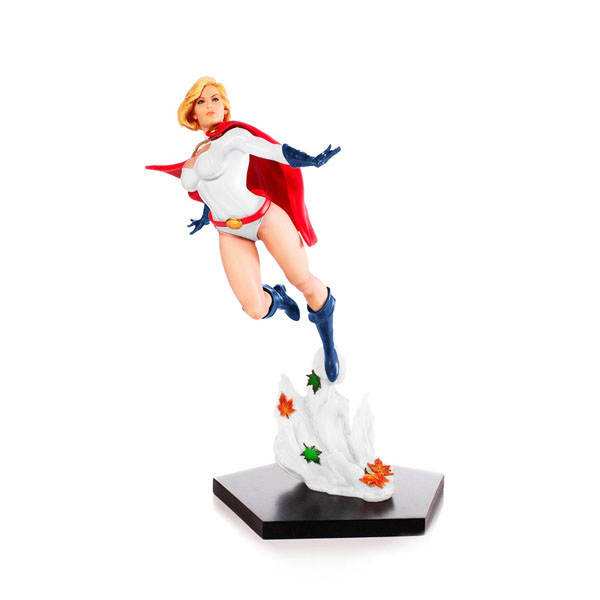 Power Girl Statue by Iron Studios