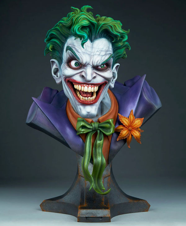 Life Size Joker Bust by Sideshow Collectibles