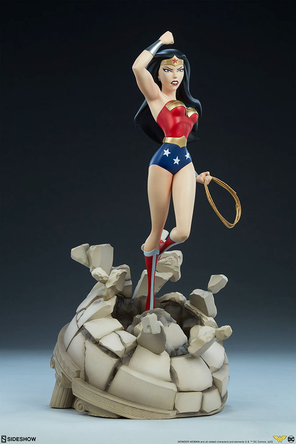 Wonder Woman Animated Series Statue