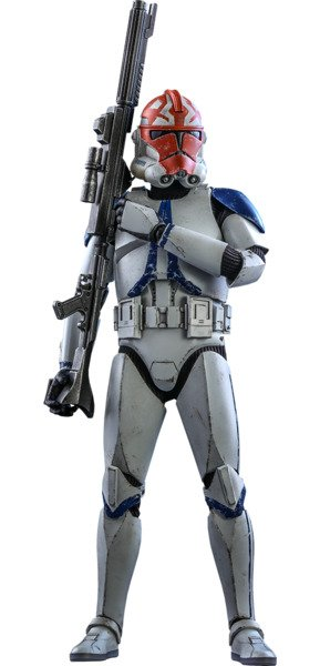 501st Battalion Clone Trooper (Deluxe) Sixth Scale Figure by Hot Toys Sixth Scale Figure by Hot Toys The Clone Wars - Television Masterpiece Series