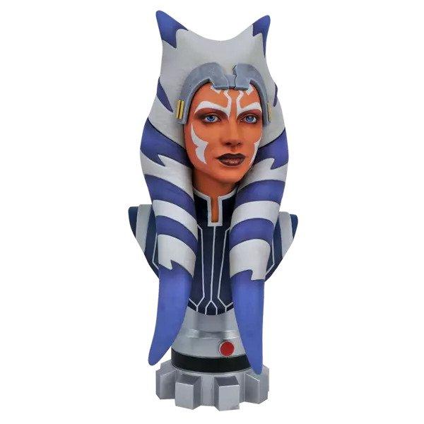 Ahsoka Tano Bust - Star Wars: The Clone Wars - Diamond Select Toys