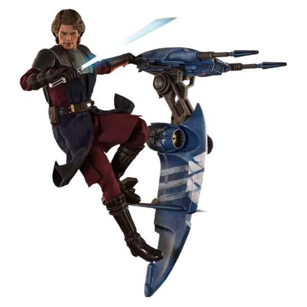 Anakin Skywalker and STAP (Special Edition) Sixth Scale Figure Set by Hot Toys The Clone Wars - Television Masterpiece Series