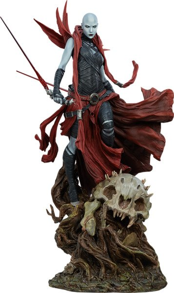 Star Wars Asajj Ventress Mythos Statue by Sideshow Collectibles