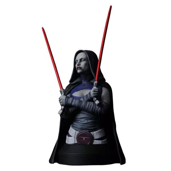 Asajj Ventress  Bust - Star Wars: The Clone Wars - Gentle Giant