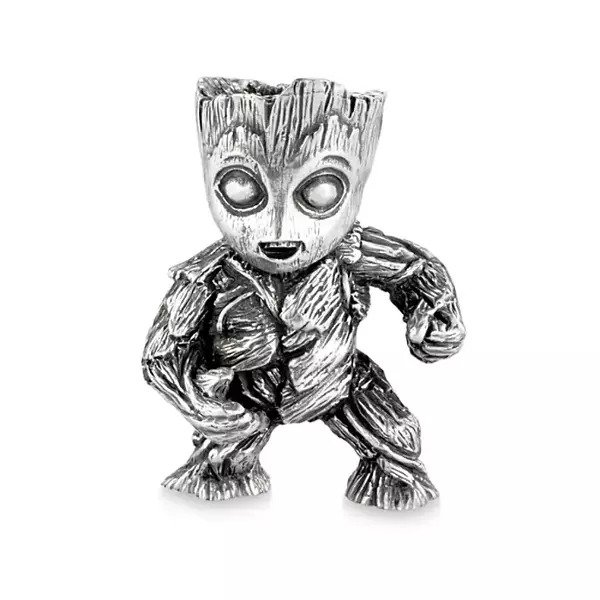 Baby Groot Pewter Mini Figurine by Royal Selangor – Guardians of the Galaxy Vol. 2