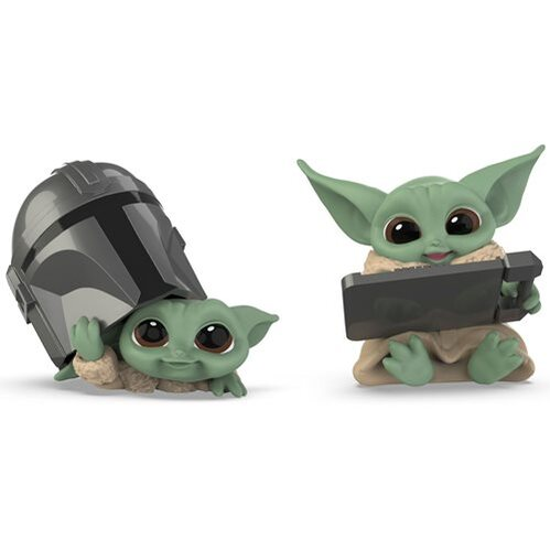 Hasbro Baby Bounties Helmet Peeking and Datapad Tablet Mini-Figures