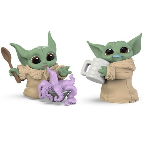 Hasbro Baby Bounties Tentacle Soup Surprise and Blue Milk Mustache Mini-Figures