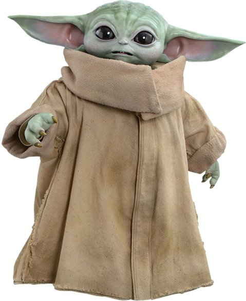 The Child - Baby Yoda Life-Size Figure by Hot Toys -  Masterpiece Series