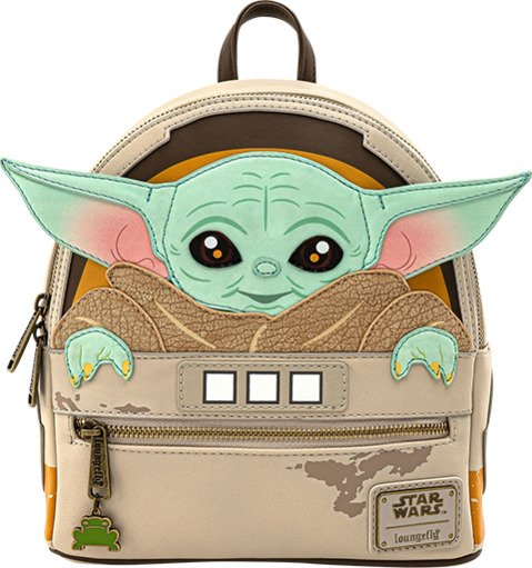 Grogu, Baby Yoda Mini Backpack  by Loungefly