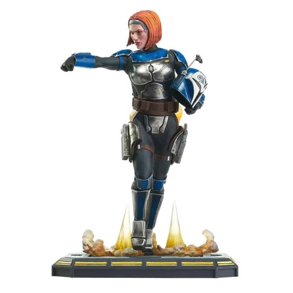 Bo Katan Premiere Collection Statue -  Star Wars: The Clone Wars -  Diamond Select Toys