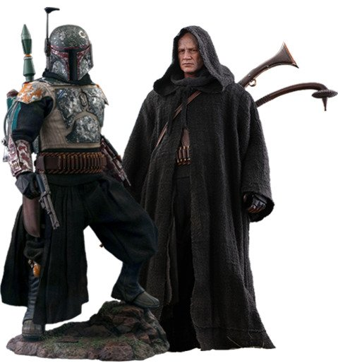 Boba Fett (Deluxe Version) Sixth Scale Figure Set by Hot Toys - Television Masterpiece Series