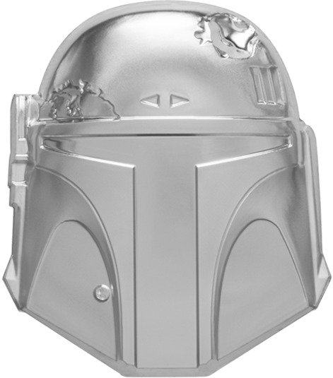 Boba Fett Helmet Silver Coin - Limited Edition - New Zealand Mint 2oz Fine Silver