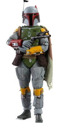 Boba Fett (Vintage Color Version) – Sixth Scale Figure by Hot Toys Star Wars: The Empire Strikes Back 40th Anniversary Collection - First of the Mandalorians in the Star Wars Movies