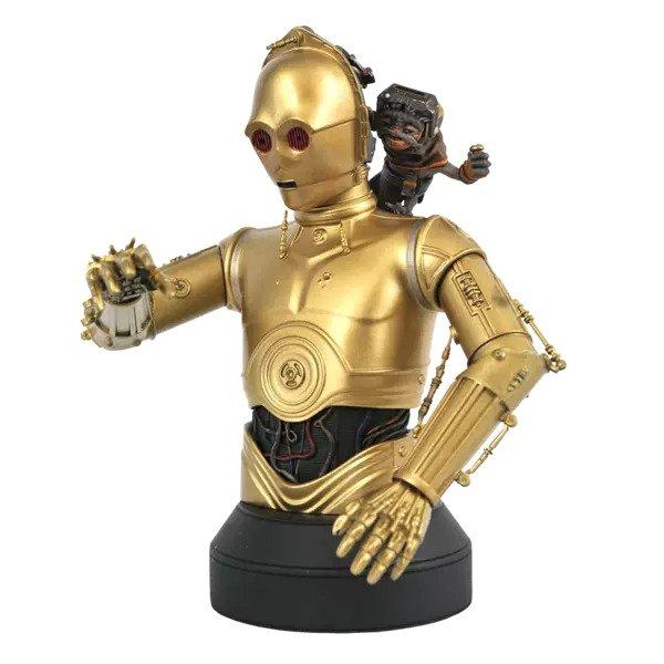 C-3PO & Babu Frick Bust - Star Wars: The Rise Of Skywalker - Gentle Giant